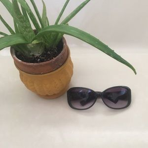 Fossil black sunglasses